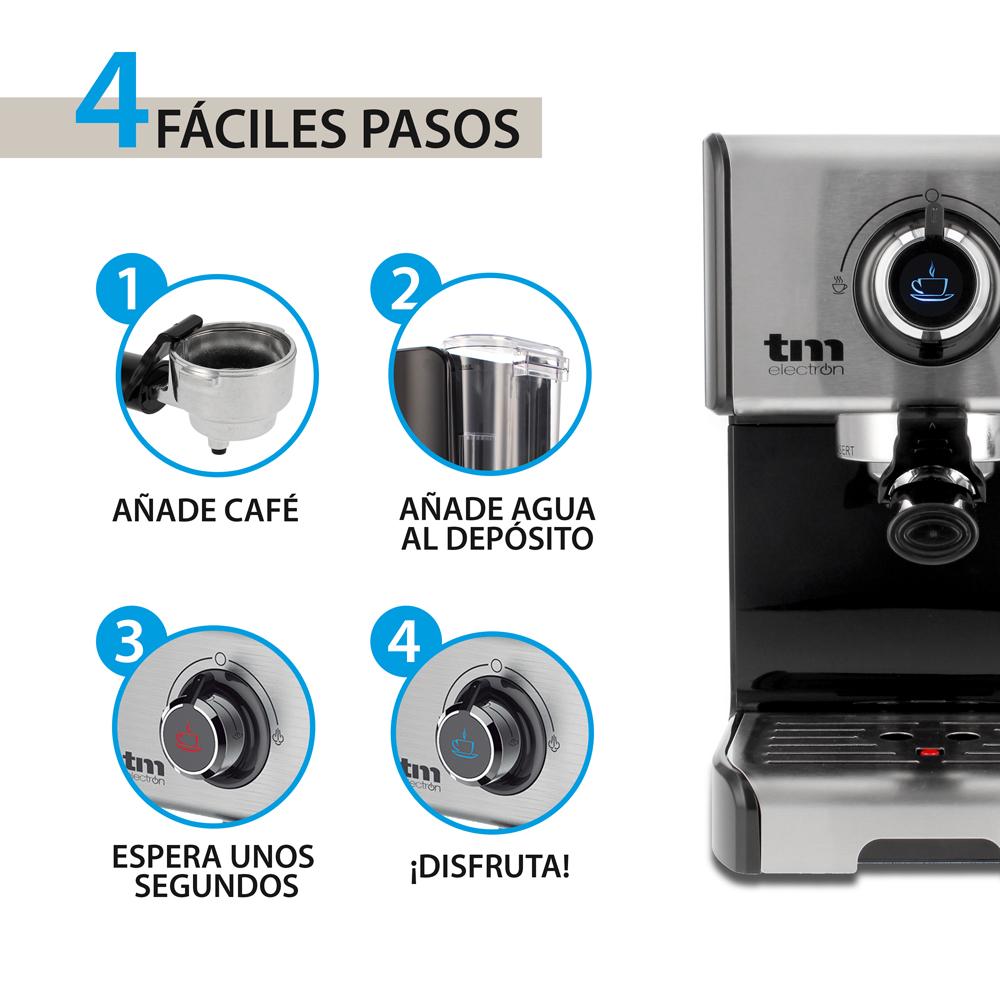 CAFETERA ESPRESSO MANUAL 15 BAR TME DS ComponentesDS